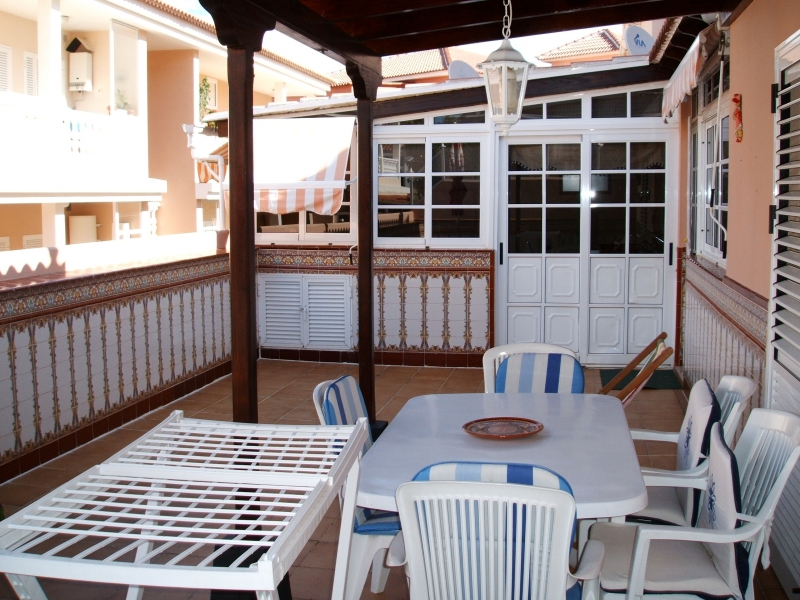 Large Apartment with terrace in La Paz.
