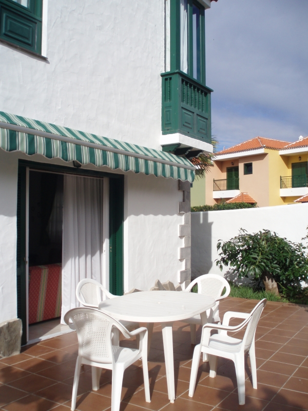 Family home furnished with terrace & garden in Puerto de la Cruz .