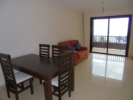 Completely new 2 bedroom flat with large balcony, pool and garage.