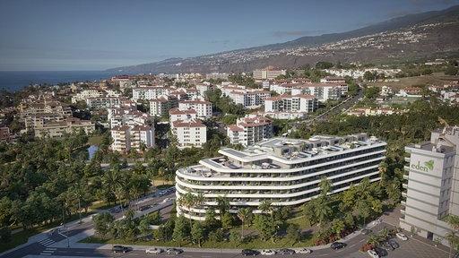 Elegante y moderno  proyecto de construccion en el Puerto de la Cruz