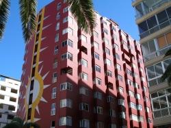 Teneriffa, Studio in Puerto de la Cruz, Zentral gelegenes Studio mit Meerblick, Wasser, Strom und Nebenkosten inklusive. Satt-TV.