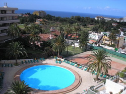 Tenerife, Apartamento en Puerto de la Cruz, Apartamento amueblado con vistas al mar y Teide