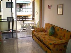 Teneriffa, Studio in Puerto de la Cruz, Schönes Studio-Appartement im Stadtzentrum mit Balkon.