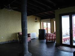 Home with panorama views.