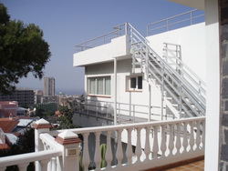 Postcard views, sunny with private terrace.
