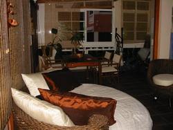 Grosse Wohnung mit Terrasse und Meerblick.