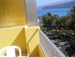 Tenerife, Estudio en Puerto de la Cruz, Bonito estudio con vistas al mar y Teide,