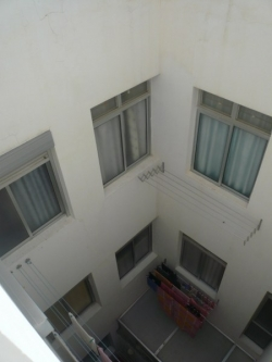 Bright penthouse, located centrally and close to the beach, yet quiet