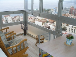 Apartamento en pleno centro con vistas panoramicas