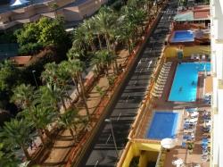 Teneriffa, Studio in Puerto de la Cruz, Sonniges Studio appartement mit Balkon und Meerblick!