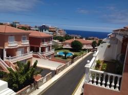 Teneriffa, Penthouse in Puerto de la Cruz, Penthaus in La Paz mit Sonniger Terrasse und Meerblick!