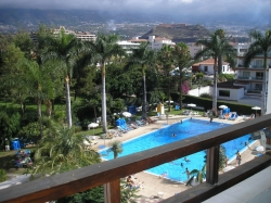 Tenerife, Studio in Puerto de la Cruz, LA PAZ!!!!!! Wonderful studio on the top floor with stunning views of Teide,