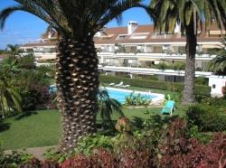 Teneriffa, Appartement in Puerto de la Cruz, LA PAZ: Schönes Appartement mit Terrasse und Garten,