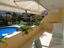 Teneriffa, Appartement in Puerto de la Cruz, La Paz! 2 Schlafzimmer und 2 bäder! Terrasse, Parkplatz, Beheizter Pool, Blick, Sonnig.....