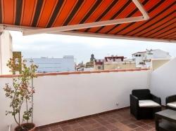 Teneriffa, Appartement in Puerto de la Cruz, ZENTRUM!!!!! Tolles Penthouse im Zentrum, Fußgängerzone, absolut ruhig, große Terrasse, sonnig,