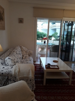 La Paz,Beautiful apartment with large terrace, furnished,bright and sunny,comm.pool,very quiet.