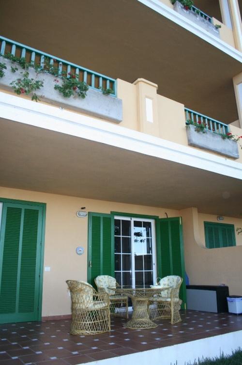 Duplex apartment mit Gemeinschaftsgarten und pool