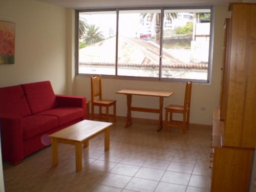 Komplett möbliertes Studio-Appartement im Stadtzentrum.