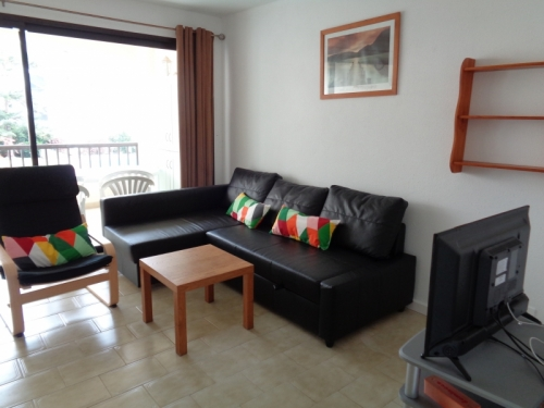 Möbliertes Appartement mit Gemeinschaftspool und Garten