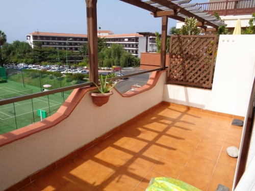 Nice studio, furnished, with sea and Teide views