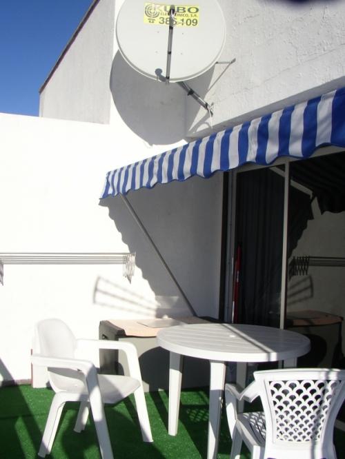 Ático-estudio en el centro de la ciudad, con vistas al Teide.