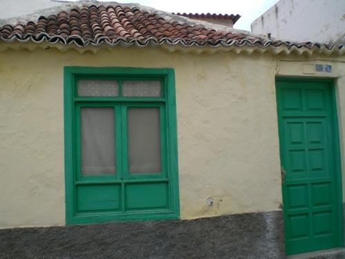 Antikes Haus im Stadtkern von Pto. de la Cruz