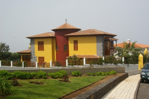 Luxury villa in La Orotava.