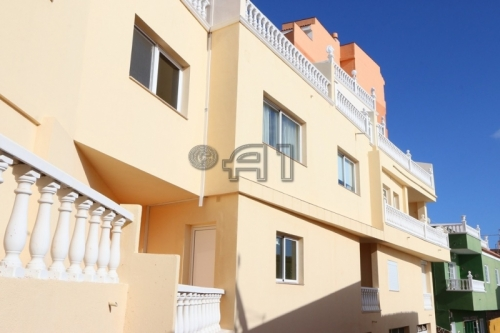 New Apartment City-Center Puerto Santiago with 2 Bedrooms, Sunny Balcony and Sea View