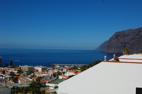 3 Schlafzimmer Stadthaus in Los Gigantes Blick auf das Meer