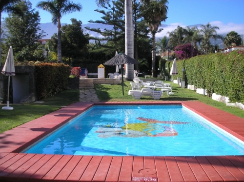 LA PAZ!!! Beautiful studio in a complex with swimming pool and gardens