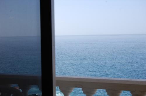 Gracioso apartamento vista al mar