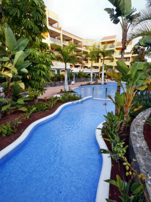 "Sold: Nice 1-Bedroom-Apartment in Residence ""Las Laderas"" in Palm Mar, Tenerife-South"