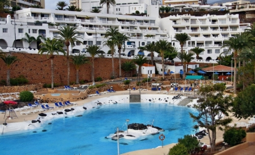Tenerife-South: 1 Bedroom Penthouse, Oceanfront, Residence VISTA NAUTICA, Playa Paraiso