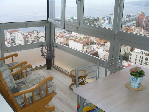 Nice apartment with pool and panoramic views!