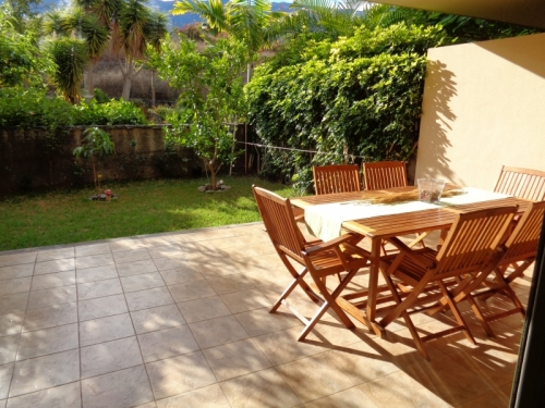 Very nice apartment with terrace and garden!