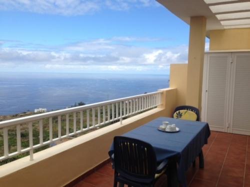 penthouse in la matanza mit 3 Schlafzimmern und herllichen Aussichten zum den Teide und die ocean hin.