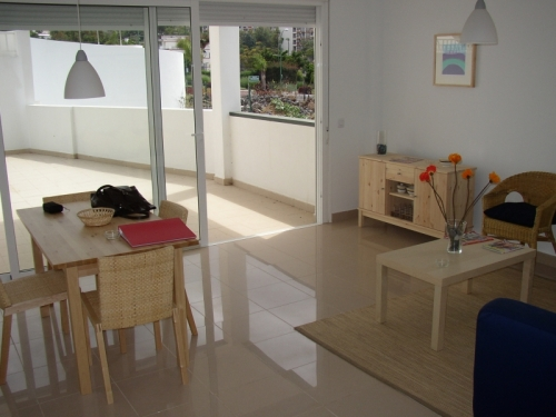 for sale a semi new build apartment (276m2) with a pool....