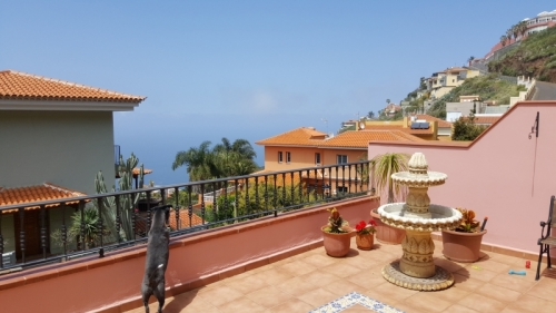 Family house with sea view and large terraces!
