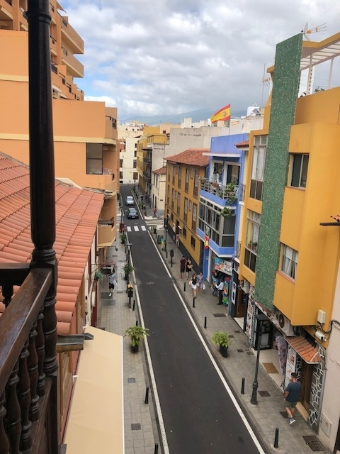 "120 m wide apartment ""in the heart of Puerto de la cruz,"