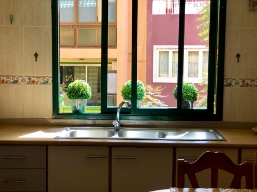 CENTRICO: Espacioso y luminoso apartamento con 3 Dormitorios, 2 baños,Terraza,amueblado
