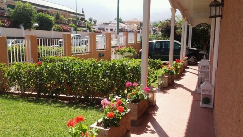 Spacious villa in the most prestigious area of Puerto de la Cruz, nice garden.
